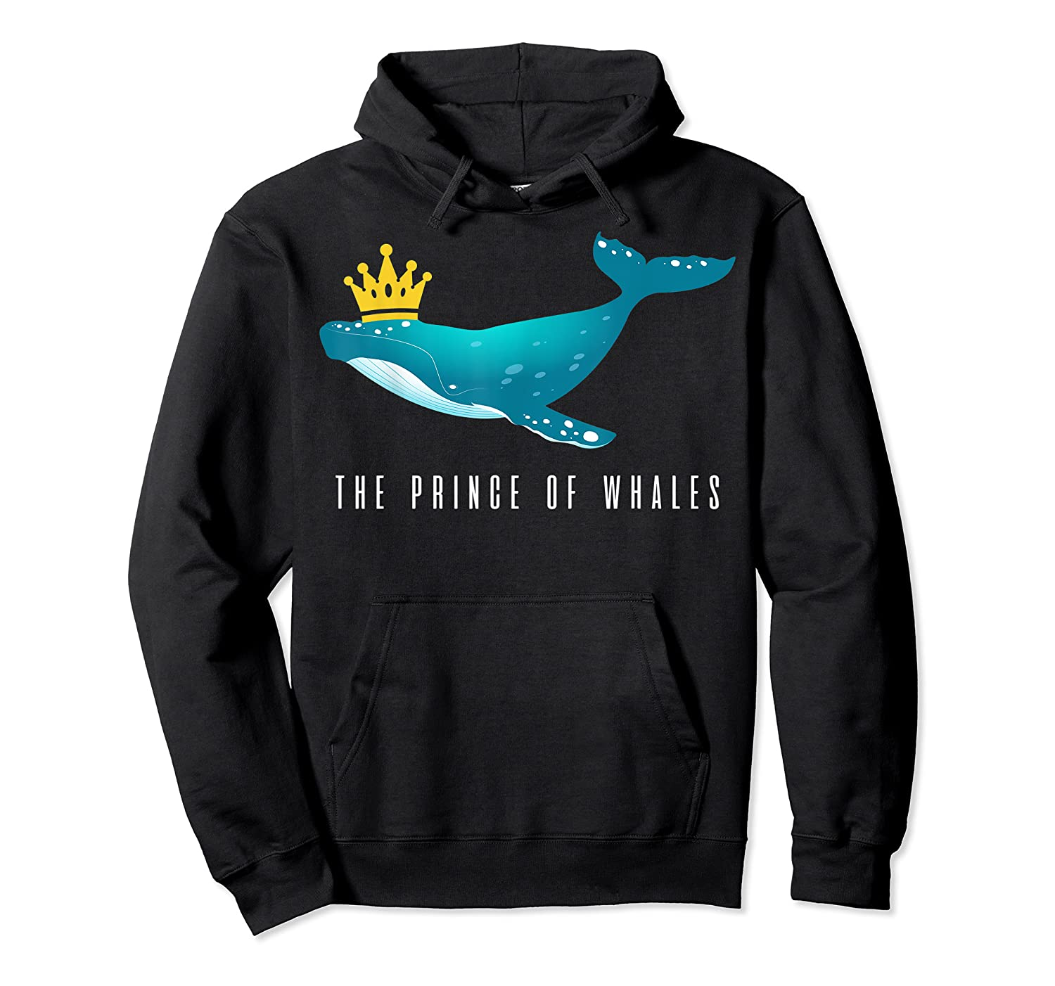 The Prince Of Whales Funny Trump Royal Political Meme Lover Shirts Unisex Pullover Hoodie
