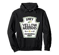 Mustard Condits Group Halloween Costumes T-shirt T-shirt Hoodie Black