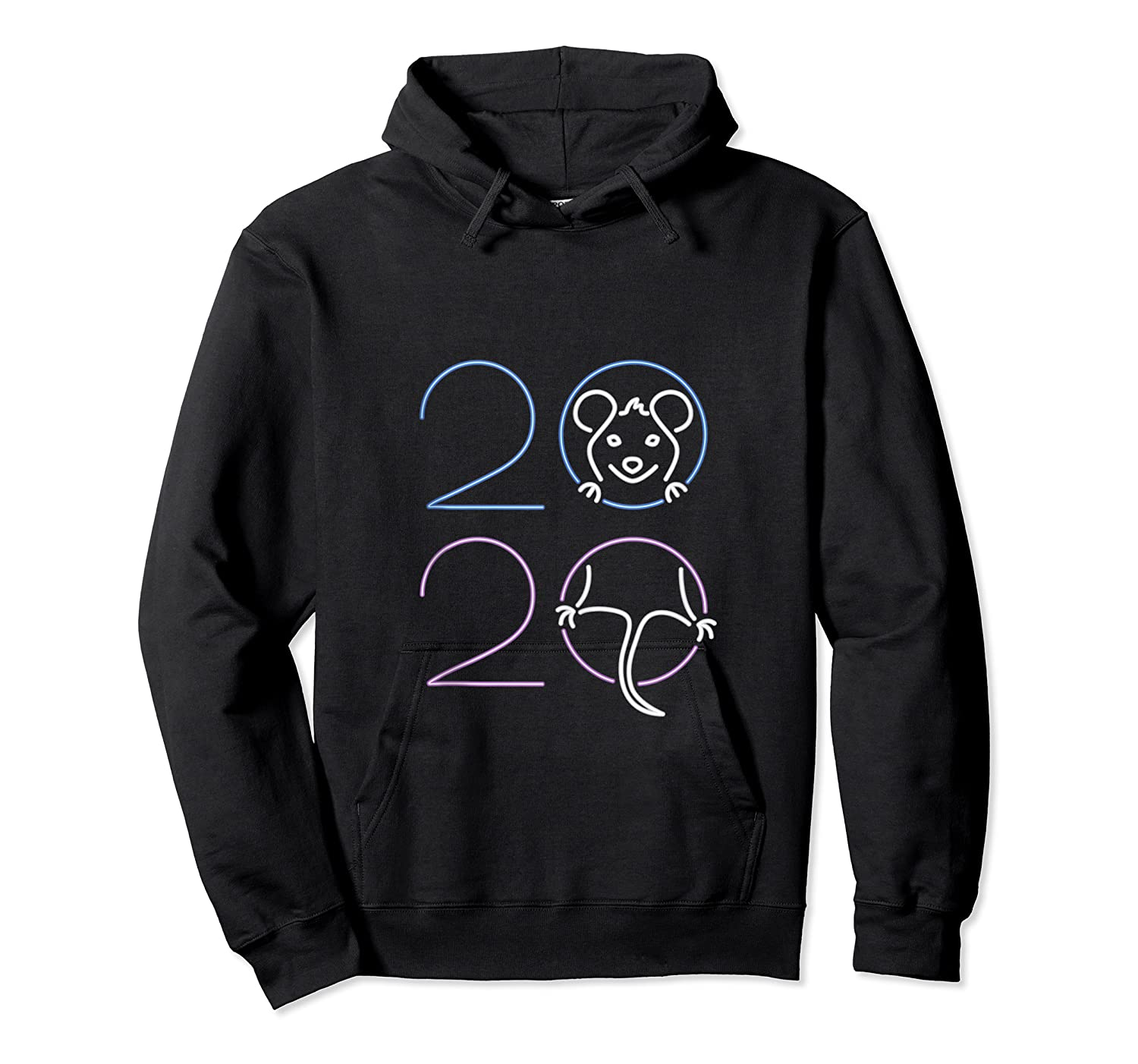 2020 Year Of The Rat Chinese Zodiac Lunar Happy New Year Shirts Unisex Pullover Hoodie