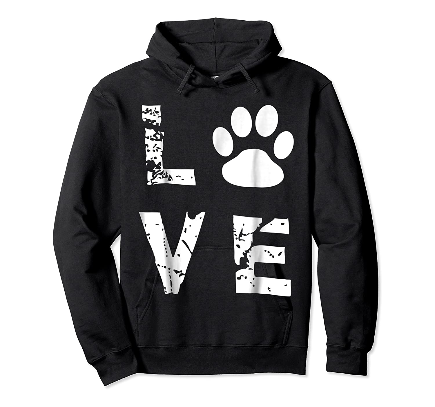 Love Animal Pet Dog Cat Paw Valentine S Day Funny T Shirt Unisex Pullover Hoodie