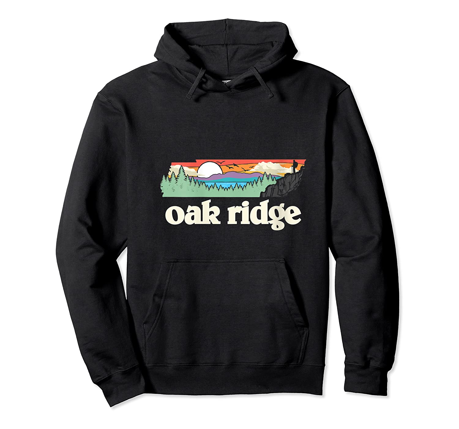 Oakland Tennessee Outdoors Retro Nature Graphic T-shirt Unisex Pullover Hoodie