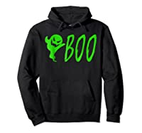 Funny Spooky Ghost Halloween Holiday Trick Or Treat Shirts Hoodie Black