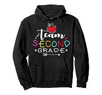 Team 2nd Second Grade Back To School Tea Gift Shirts Hoodie Black