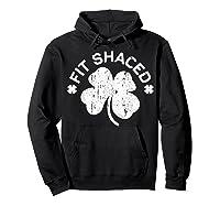 Shaced T Shirt Saint Patricks Day Gift Shirt Hoodie Black
