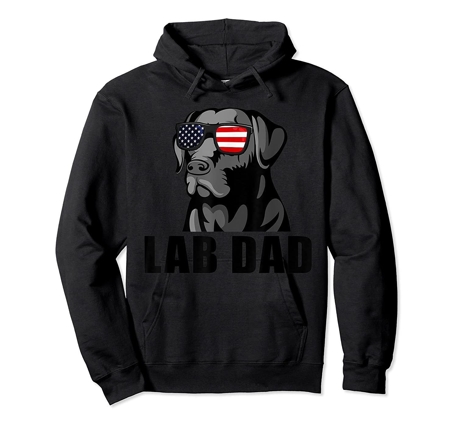 Chocolate Labrador Hashtag Lab Dad Tshirt Father Day Gifts Unisex Pullover Hoodie