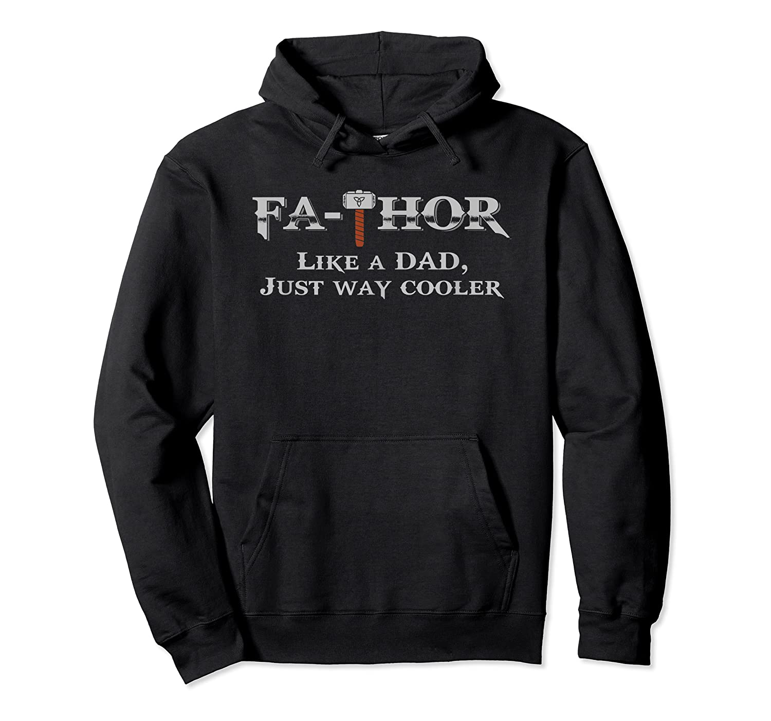 Fathor T Shirt Father S Day Gift Papa Daddy As Hero Unisex Pullover Hoodie