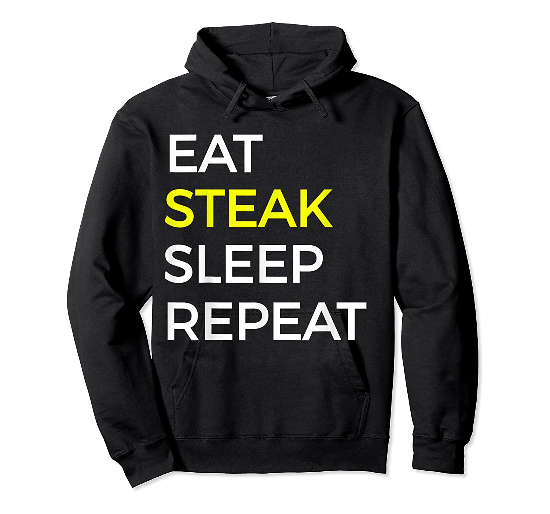 Beef Steak, Meat Bbq Gift Shirts Unisex Pullover Hoodie