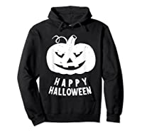 Funny Happy Halloween Costumes Scary Spooky Pumpkin Costume Shirts Hoodie Black