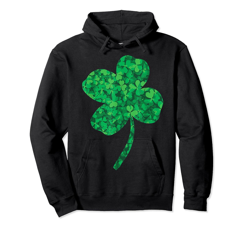Shamrock Saint Patrick's Day Shirts Unisex Pullover Hoodie