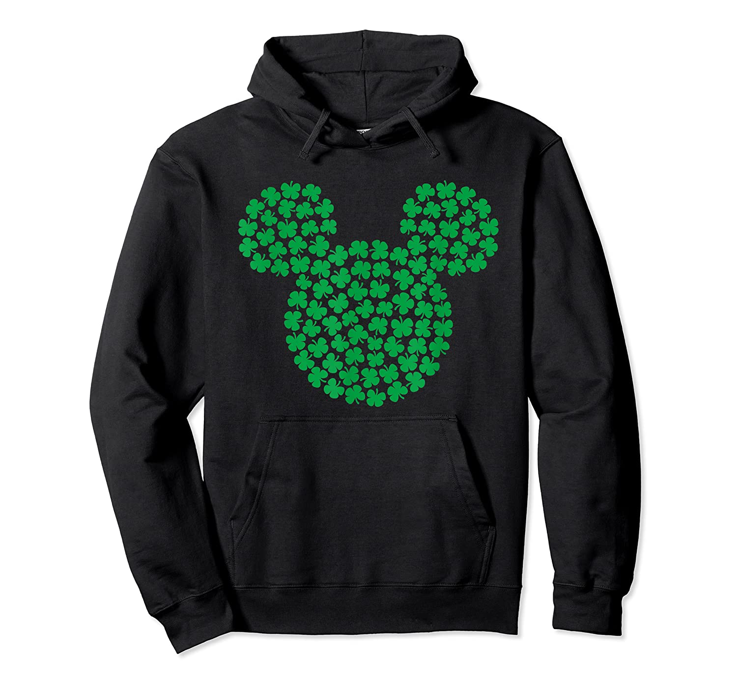 Disney Mickey Mouse Green Clovers St Patrick S Day T Shirt Unisex Pullover Hoodie