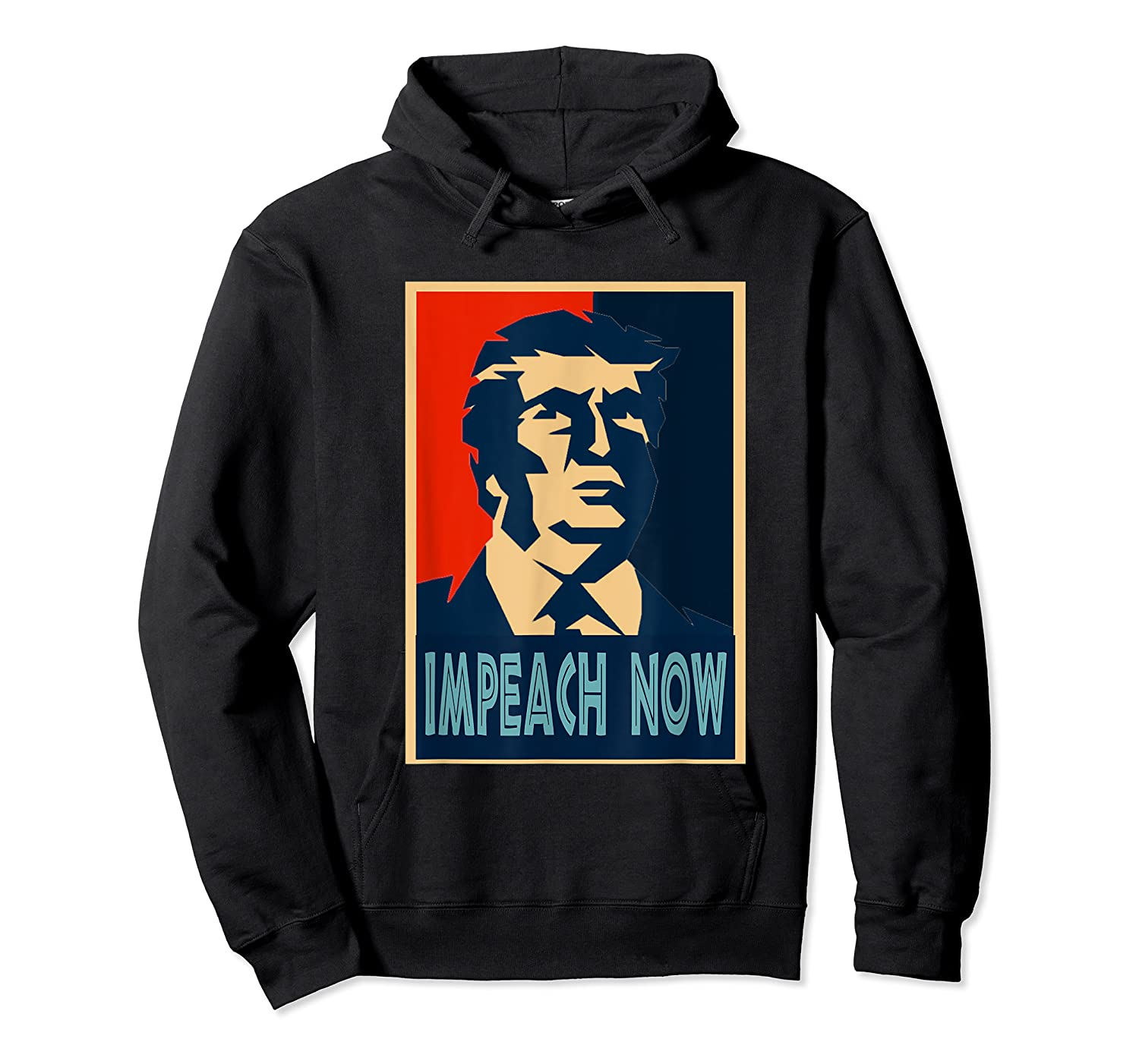 Impeach Trump Now Nancy Funny Vintage Gift T Shirt Unisex Pullover Hoodie