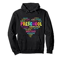 Heart Preschool Team Tea Student Back To School Shirts Hoodie Black
