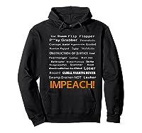 29 More Reasons To Impeach Potus Trump Political Activist Premium T Shirt Hoodie Black