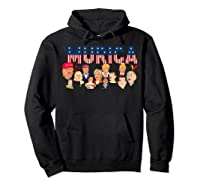 Funny Political Humor Murica Trump Hillary Great Election T Shirt Hoodie Black