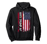 Anti Trump Impeach The 45th President T Shirt Hoodie Black