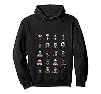 Friends Cartoon Halloween Character Scary Horror Movies T Shirt Hoodie Black