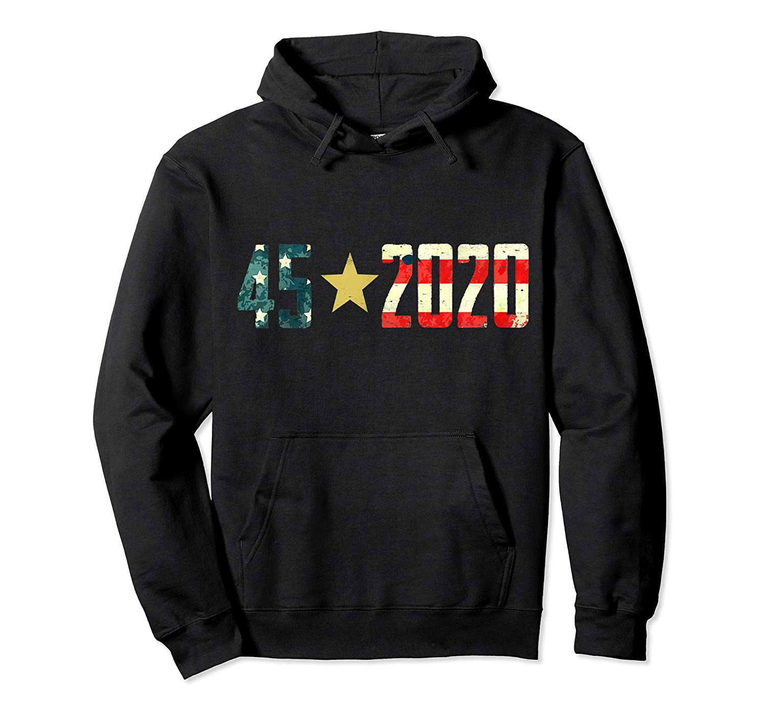 452020 Donald Trump America Re Election T Shirt Gift Unisex Pullover Hoodie