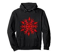 Rabbit Christmas Shirt Snowflake Tank Top Hoodie Black