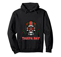 Tampa Bay Football Helmet Sugar Skull Day Of The Dead T Shirt Hoodie Black