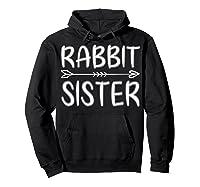 Cute Rabbit Sister Shirt I M Going To Be A Sister T Shirt Hoodie Black