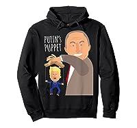 Putin S Puppet Donald Trump Anti Trump Impeach Trump Gift T Shirt Hoodie Black