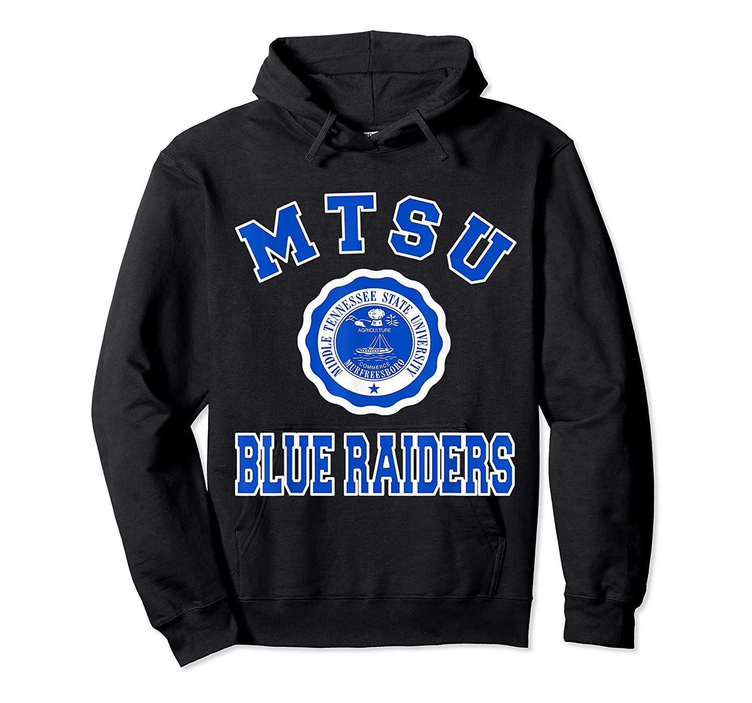 Middle Tennessee State 1911 University Apparel T Shirt Unisex Pullover Hoodie