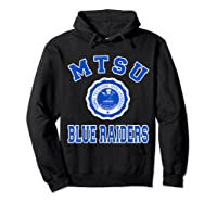 Middle Tennessee State 1911 University Apparel T Shirt Hoodie Black