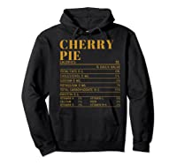 Ry Pie Nutrition Facts Gift Funny Thanksgiving Costume Shirts Hoodie Black