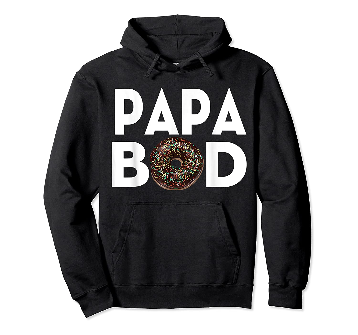 S Donut Papa Bod T Shirt Funny Father S Day Gift Unisex Pullover Hoodie
