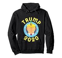 Funny Unicrontrump 2020 Election Usa Flag Republican Gift Tank Top Shirts Hoodie Black