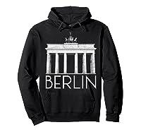 Berlin Shirt For Girls  Hoodie Black