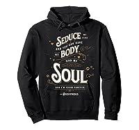Seduce My Mind Classic Love Quote Valentines Day T Shirt Hoodie Black