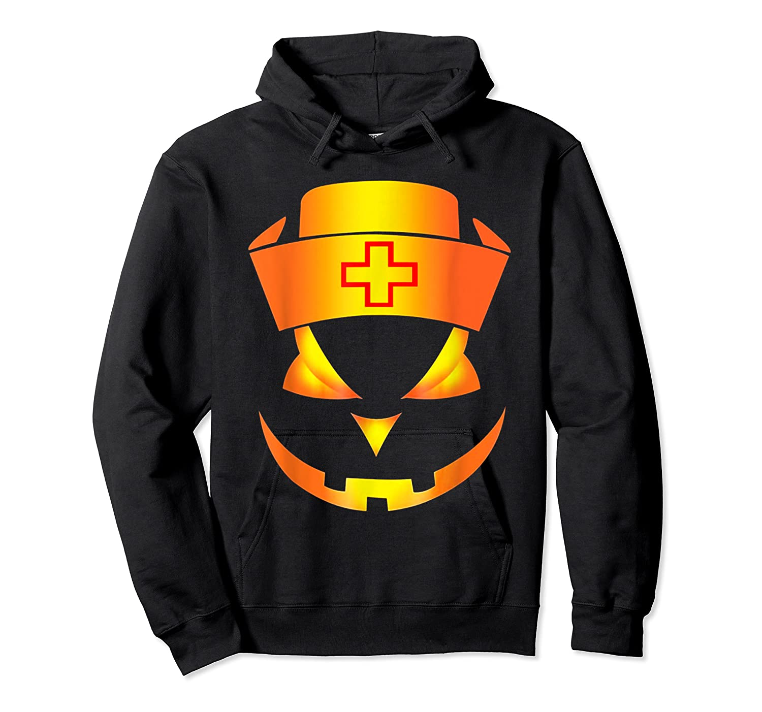 Scary Halloween T Shirt For Nurses Unisex Pullover Hoodie