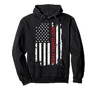 Best Grandma Ever T Shirt American Flag Mothers Day Gift Mom Hoodie Black