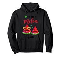 One In A Melon Nani Watermelon Summer Gifts Shirts Hoodie Black