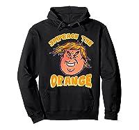 Impeach Donald Anti Trump Orange Emoji Premium T Shirt Hoodie Black