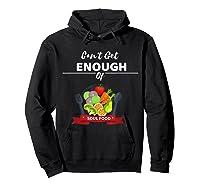 Can T Get Enough Of Soul Food Vegan Vegetarian T Shirt Hoodie Black