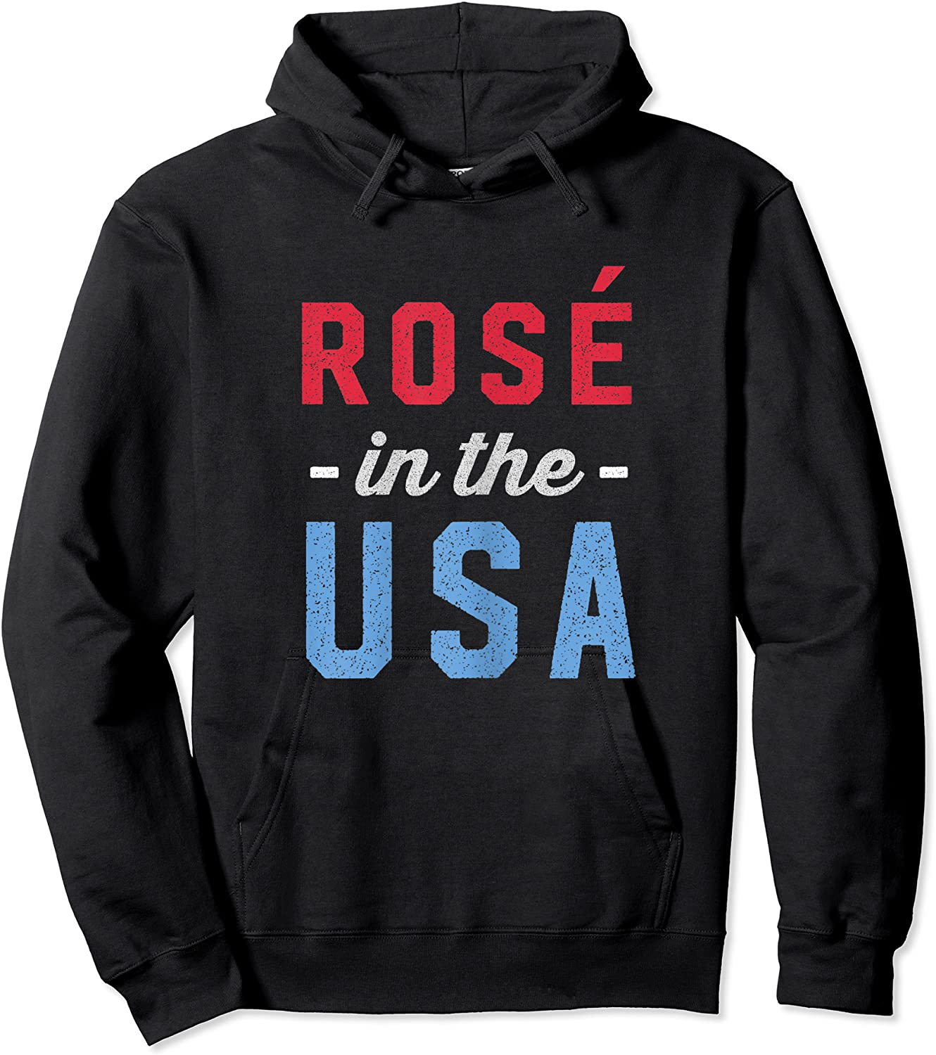 Rose In The Usa Cute 4th Of July T-shirt Unisex Pullover Hoodie