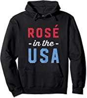 Rose In The Usa Cute 4th Of July T-shirt Hoodie Black