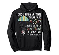 Once Upon A Time There Was A Girl Who Really Loves Books Ts Shirts Hoodie Black