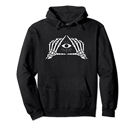 Shane Dawson Skeleton All-Seeing Eye Hoodie
