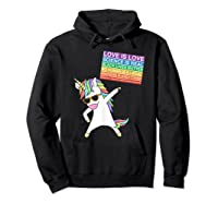 Social Justice Unicorn Equality Protest Human Rights T-shirt Hoodie Black