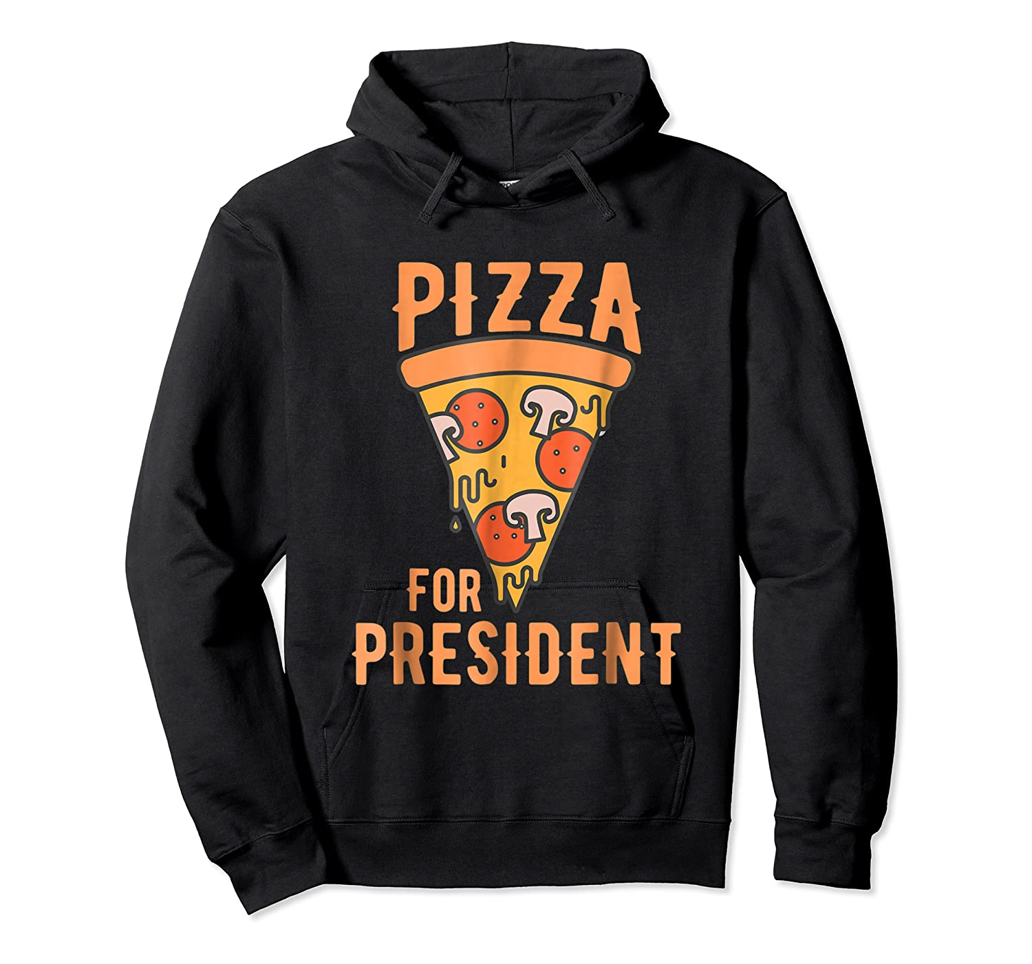 Impeach Trump Pizza For President Pizza Lovers T Shirt Unisex Pullover Hoodie