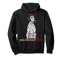 Dalmatian Mom Bandana Dalmatian Dog Lovers Gifts Shirts Hoodie Black