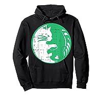 Area 51 Alien Cat Yin Yang Easy Lazy Kitten Halloween Gift Shirts Hoodie Black