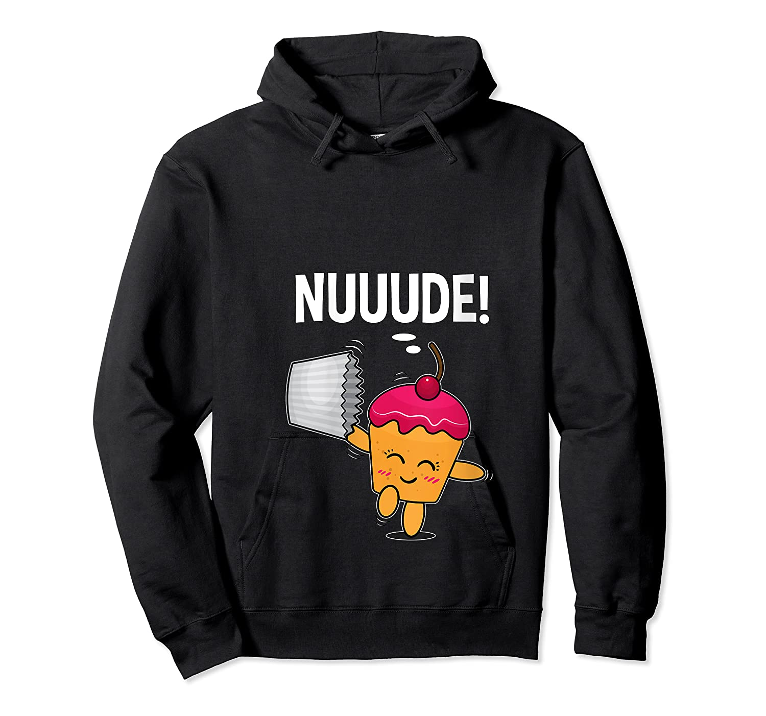 What Do You Call A Cupcake Without It S Wrapper Nude T Shirt Unisex Pullover Hoodie