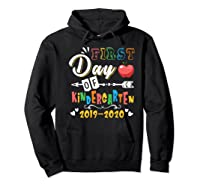 First Day Of Kindergarten Cute Gift For Teas Shirts Hoodie Black