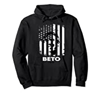 Beto O Rourke Usa Flag President Retro Vintage Orourke Gift Premium T Shirt Hoodie Black