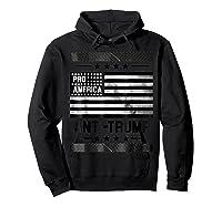 Pro America Anti Trump 4th Of July Impeach Trump T Shirt Hoodie Black