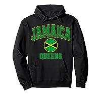 Ny Varsity Style N Flag Circle T Shirt Hoodie Black